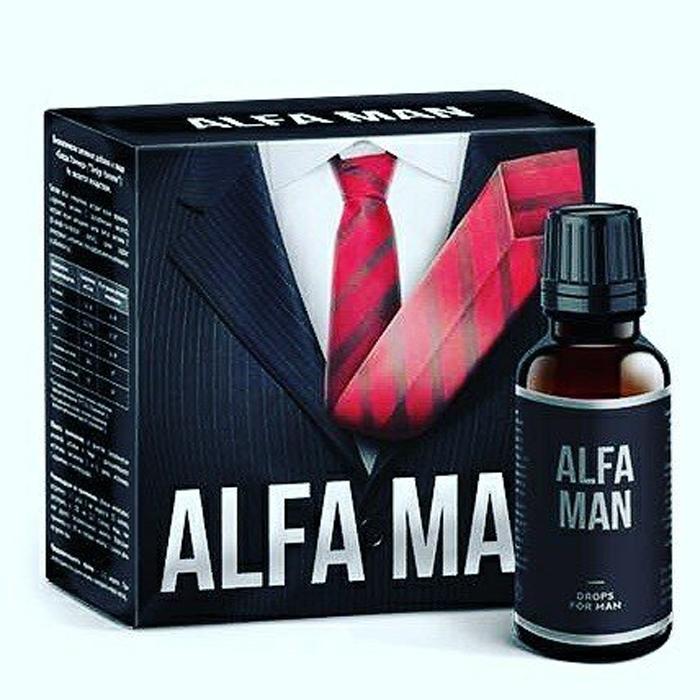 Alfa Man - капли для потенции в Сургуте